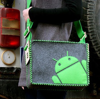 Geekcook diy android robot shoulder bag free air mail