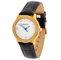 2012 women's watch ladies watch all-match table fashion ladies watch fashion table gold