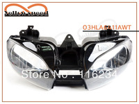 Head light FOR Yamaha 1999-2002 YZF R6 YZF-R6 YZFR6 YZF R600 head lamp