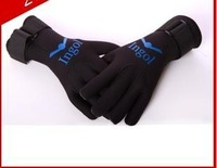 Factory direct sales winter swimming gloves diving gloves warm warm gloves winter swimming socks