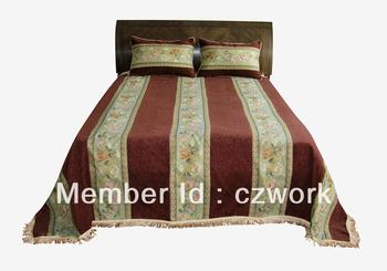 2013 fashional décoratif jacquard couvre-lit