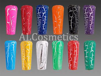 12 Colors Nail Art Cracked Crackle Polish/Varnish