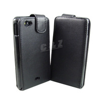 Leather Case Cover Pouch + Film For Sony Xperia Miro ST23i a