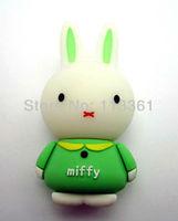 Rabbit Green 100% Genuine Capacity 4GB 8GB 16GB 32GB USB 2.0 Flash Memory Stick Pen Drive Thumbdrive U Disk Storage Device