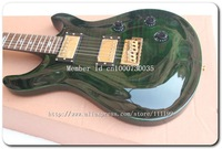 Wholesale Guitars Reed Smith Custom Electric guitar In green tiger   Musical Instruments