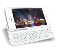 Free shipping!New Arrival! Bluetooth Backlight Ultra-thin Slide-out Wireless Keyboard for iPhone 5 5G