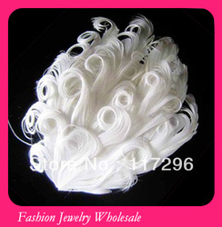 Top Quality Competitive Price Solid Color Curly Nagorie Feahter Pad Wholesale 30pcs/lot(China (Mainland))