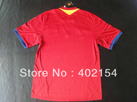 Wholesale 13-14 Spain Home Jersey Thai Qualtiy Mix order Free shipping