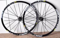 "Original!2013 new arrivals Mavic CROSS RIDE 26"" alloy Mountain bicycle wheelset QRM hub bike wheelset 24 holes free shipping"