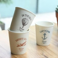 Zakka vintage dreamers iopened mini cup 3 styles set  free air mail