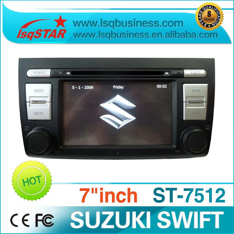 special SUZUKI swift car video with gps navigation,bluetooth,radio,steering wheel control(China (Mainland))