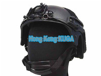 IBH Helmet with NVG Mount & Side Rail (BlacK)  ---Free Shipping