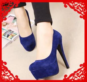 جمال اللون الأزرق في الأحذية Free-Shipping-2012-f