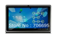 Q88 Allwinner A13 7inch Tablet PC Capacitive Screen Android 4.0 512MB DDR3 4GB WIFI Camera