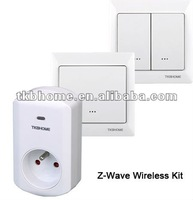 Z-Wave Kit for smart homes (1xGermany Plug-in Socket+2xWall Switch+free shipping)