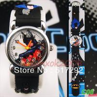 Batman Cartoon Children Quartz Wrist Watch  Xmas gift C08