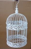 Studio props props wrought iron bird cage Size 20cm(diameter)x 26cm(H)