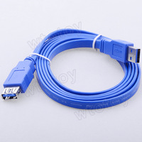 Unitek 1.5M USB3.0 A Male to A Female Flat Cable Y-C414