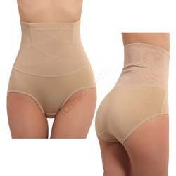 Womens Body Shapewear Abdomen In Brief Underwear Slimming Panties Lower Abdomen Waist Cincher Tummy Control Girdle Panty 7225(China (Mainland))