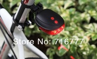 2pcs Bicycle Cycling Laser Tail Light  2 Laser + 5 LED novelty Bike Cycle Light led  Safety Light parallel