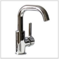 Bathroom Sink Faucets Upscale boutique All copper basin Troubled waters Small bend flat tee Hot and cold taps