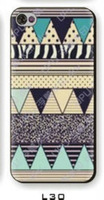 New Aztec Tribal Tribe Pattern Retro Vintage hard back case cover skin for iphone 4 4S free shipping 10pcs/lot