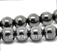 Hot sale Wholesale 6 mm Black Hematite Round Beads  Fit Shamballa Bracelet Necklace
