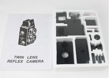 Factory price dropshipping DIY Adoult LOMO Camera Science Vo1.25 Twin Lens Reflex TLR Camera Holga Recesky