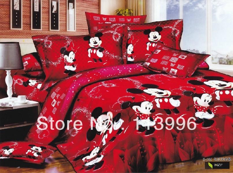 red mickymaus bettw sche werbeaktion shop f r werbeaktion. Black Bedroom Furniture Sets. Home Design Ideas