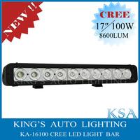 17'' 100W Cree 8600 LM Offroad Led Driving Lamp SUV ATV 4x4 Led Work Light Bar