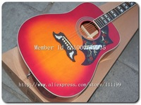 High Quality -  Hummingbird Acoustic Guitar In Cherry Sunburst  18