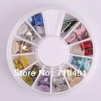 New Free Shipping Wholesale/ Nail Supplier, 100pcs 3D Polymer Rhinestone UV Nail Gel Polish DIY Acrylic Nails Tool/ Nail Art 30#