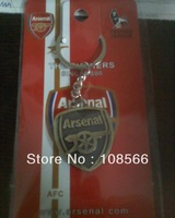 england  Arsenal bronze metal keychain / football red retro key ring