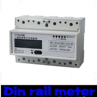 DIN Rail 230/400VAC 3 Phase Watt-hour KWH Energy Meters free shipping!