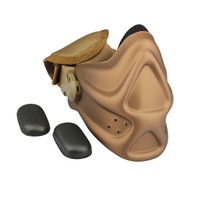 Neoprene Mask Hard Foam Protect Face From Airsoft Shot