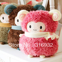 J5 Little sheep soft plush hand warmer plush pillow , New Year Gift