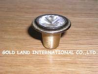 D28mm Free shipping K9 crystal glass furniture drawer knob