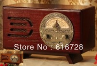 Free shipping   sound player  disk reproducer   Annatto color /brown For gift