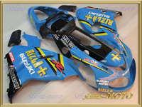 BEST RIZLA blue Fairing for SUZUKI TL1000R 98-03  TL 1000R 1998-2003 TL 1000 R 98 99 00 01 02 03 TL1000 R 1998 2003