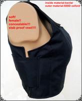 self defense concealable women stab vest