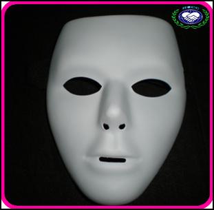 Hot sale Jabbawockeez mask America's Best Dance Crew White Mask 50pcs/lot Free shipping