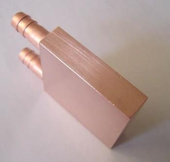2pcs New Water cooling Copper Water Block for GPU CPU 40  40  10 mm