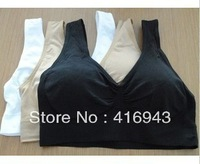 new products women's sexy genie bra body shaper with chest pads different kinds of color