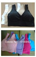 150pcs/lot wholesale seamless genie bra with chest padding(2pcs) slimming bodys shaper