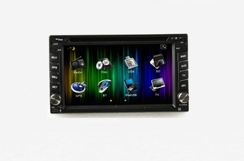 two din  TIBURON(2002-2009) 6.2 car DVD player with GPS,TV,Bluetooth,IPOD