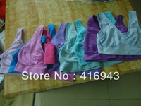 Seamless craft  Ahh bra Leisure Bra No chest pads 300pcs/lot wholesale  USD531/lot