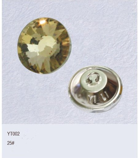 glass fashion sofa button, bed button(China (Mainland))
