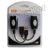 shenzhen guangdong usb2.0 RJ45 cable   up to 150 ft length usb extension adapter