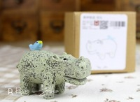 General cargo Deep forest small animals hippo, Ideas home decorative accessories, For photography