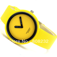 Quartz watch needle brief watch personalized candy color watch for children Fast Free Shipping by Swiss Or FiJi Post Air Mail